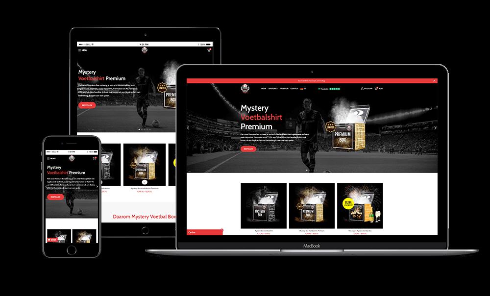 Mystery Voetbal Box - Mystery Voetbalshirt website
